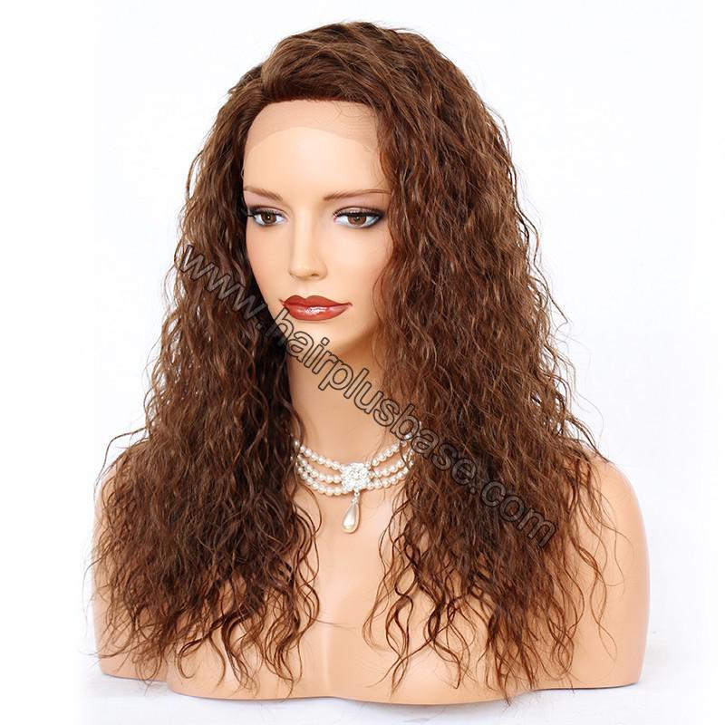 Ciara Style Loose Curl Glueless Lace Front Wigs Brazilian Virgin Human Hair 3