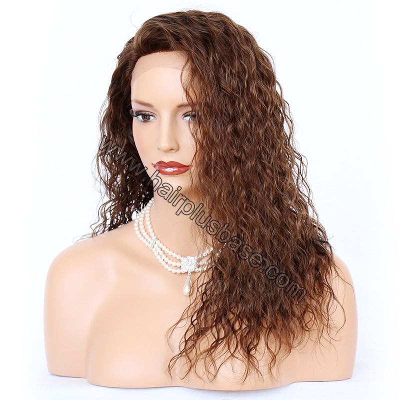 Ciara Style Loose Curl Glueless Lace Front Wigs Brazilian Virgin Human Hair 4