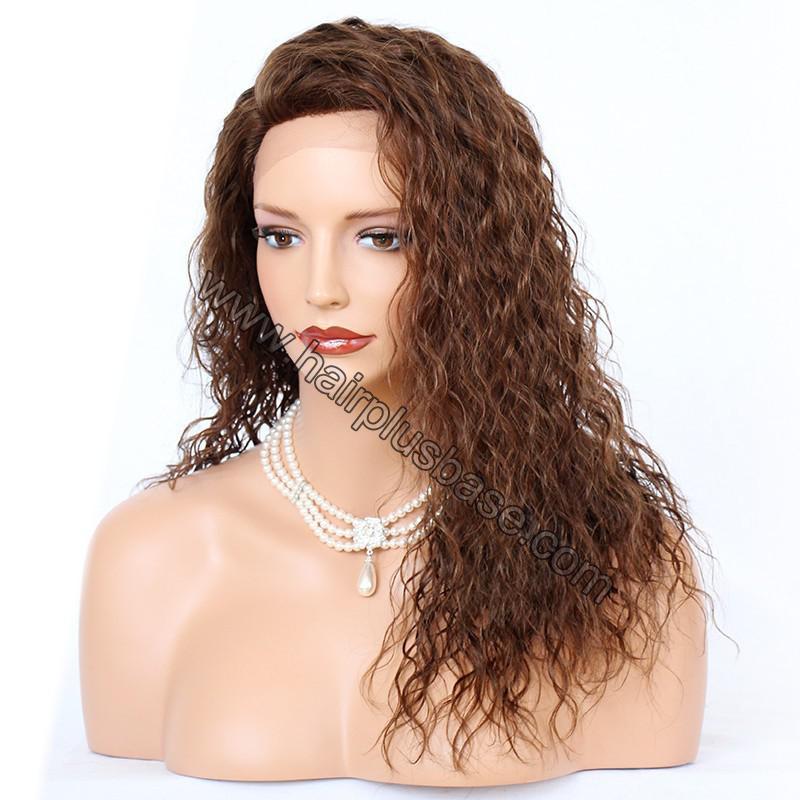 Ciara Style Loose Curl Glueless Lace Front Wigs Brazilian Virgin Human Hair 5