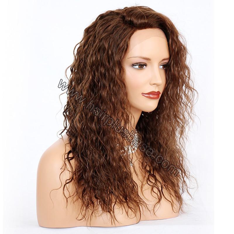 Ciara Style Loose Curl Glueless Lace Front Wigs Brazilian Virgin Human Hair 6