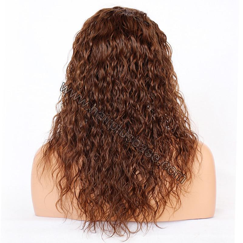Ciara Style Loose Curl Glueless Lace Front Wigs Brazilian Virgin Human Hair 7