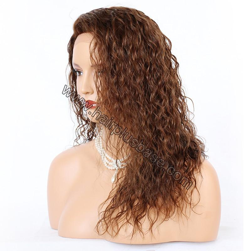 Ciara Style Loose Curl Glueless Lace Front Wigs Brazilian Virgin Human Hair 8