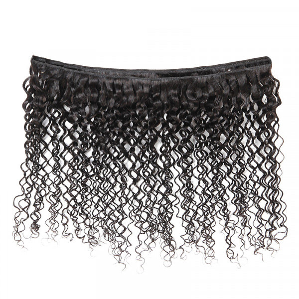 Curly Hair Weave 1 Piece Jerry Curl Hair Bundles 8-32 Inch 3