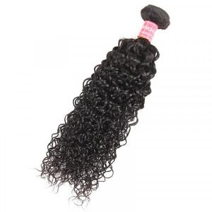 Curly Hair Weave 1 Piece Jerry Curl Hair Bundles 8-32 Inch