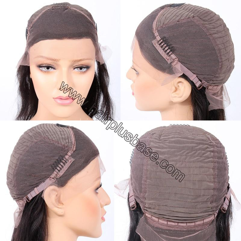 Deep Wave Glueless Lace Front Wigs Indian Remy Hair 1