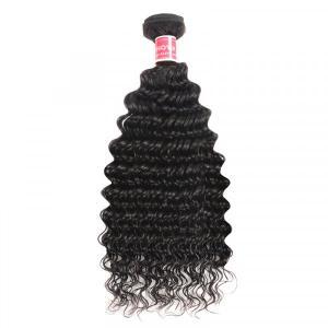 Deep Wave Hair 1 Piece Cheap Hair Bundles 8-32inch Deep Wave Weave