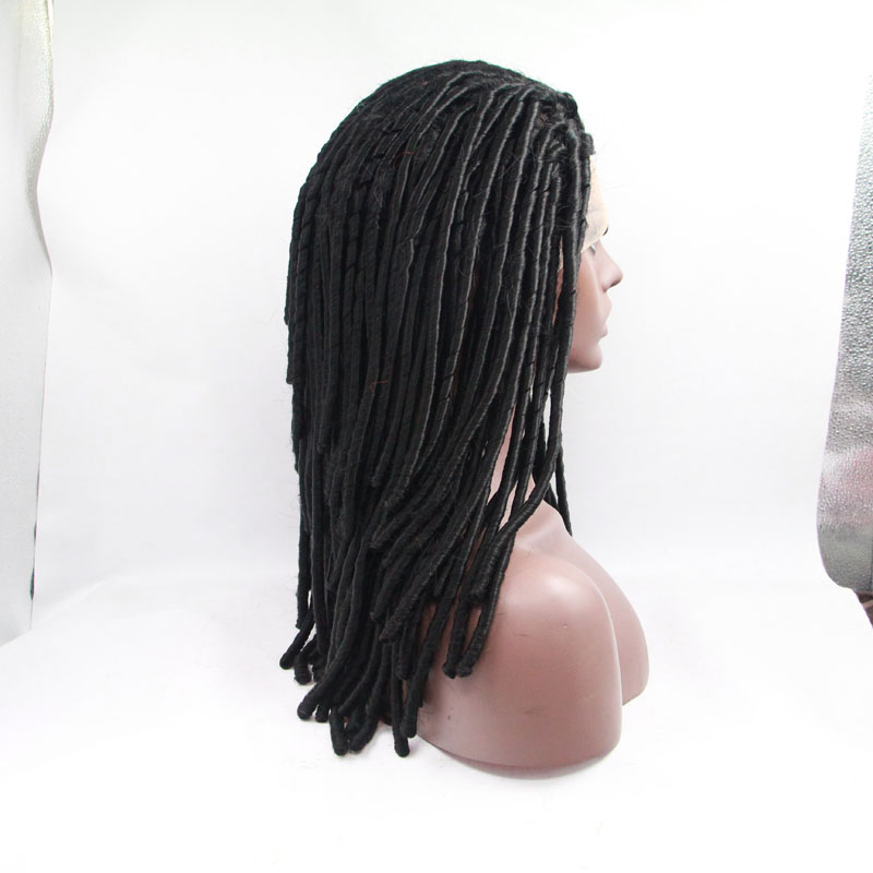 Fashion Long Afro Curly Lace Front Wigs For African American 1