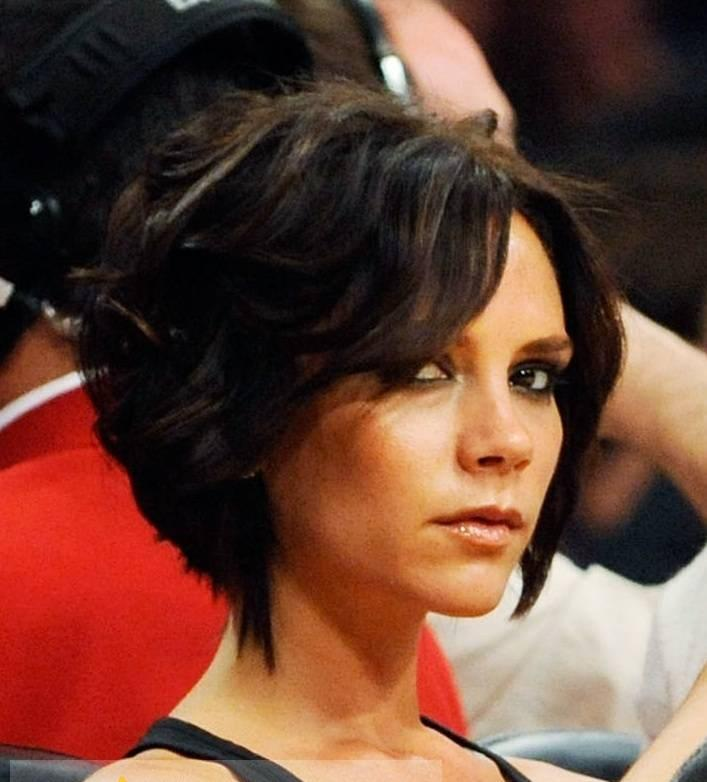 Full Lace Short Black Celebrity Hairstyle 100 Human Hair For Women