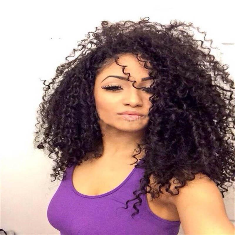 Full Lace Wigs Brazilian Virgin Hair 10mm Curl 0