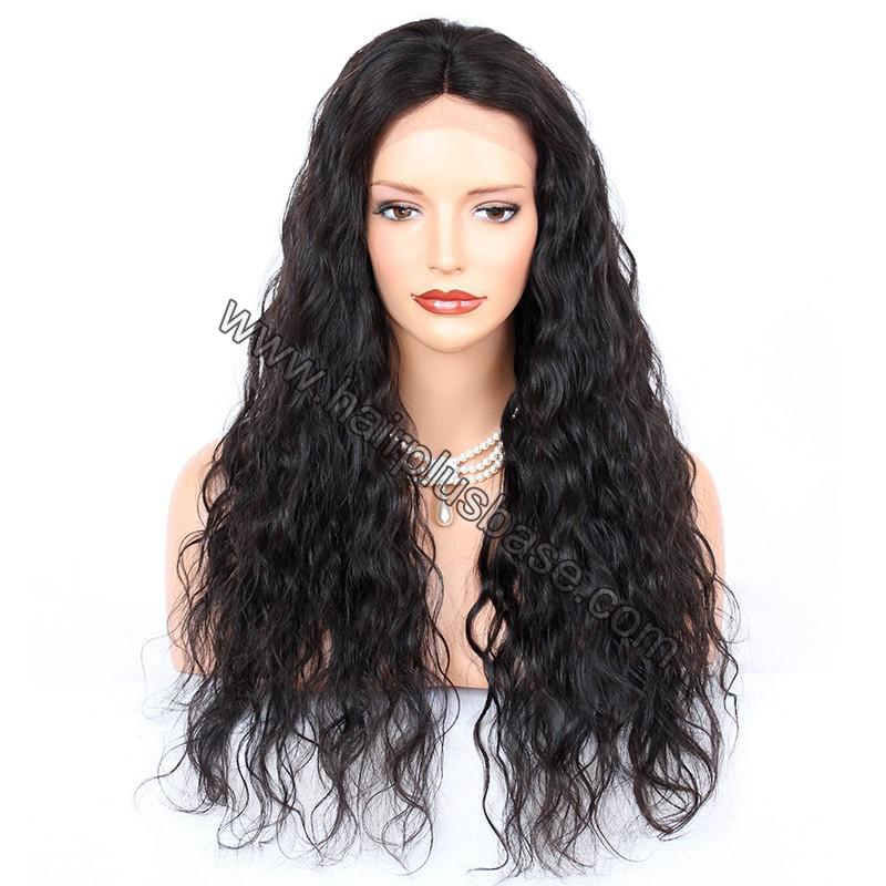 Full Lace Wigs Indian Remy Hair Deep Wave 1