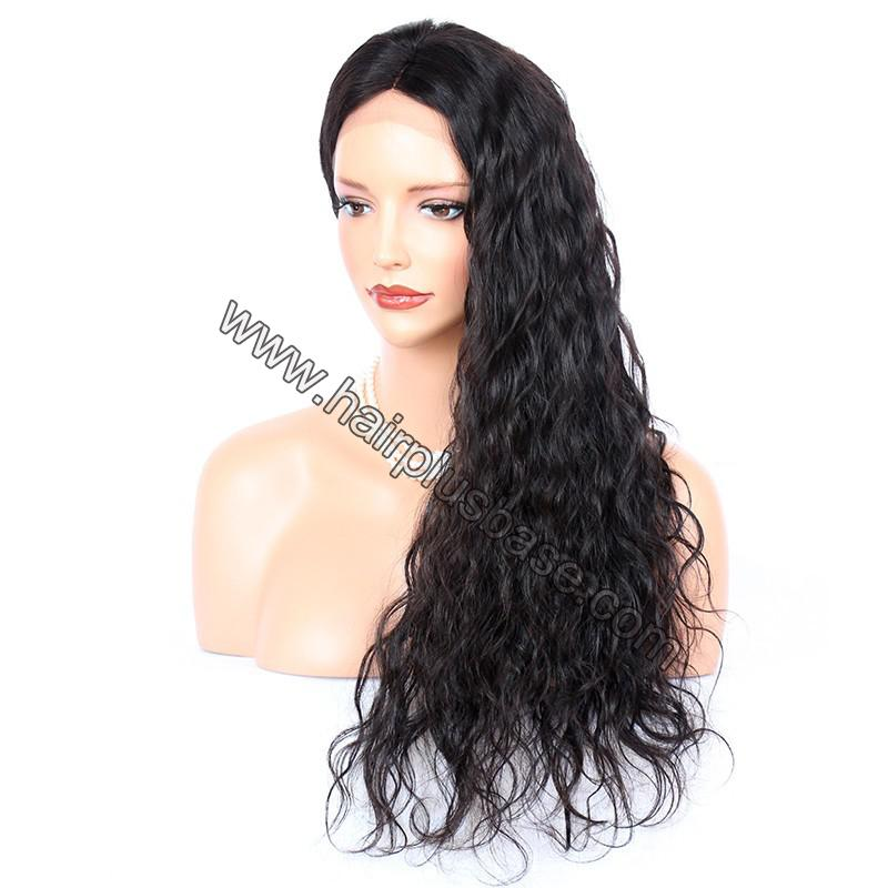 Full Lace Wigs Indian Remy Hair Deep Wave 2