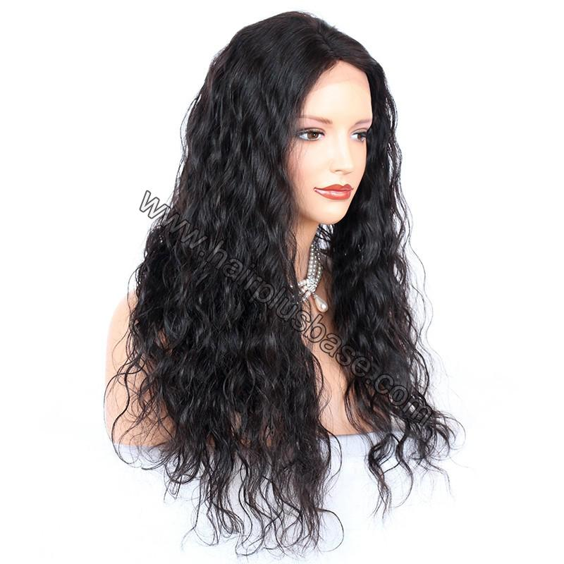 Full Lace Wigs Indian Remy Hair Deep Wave 3