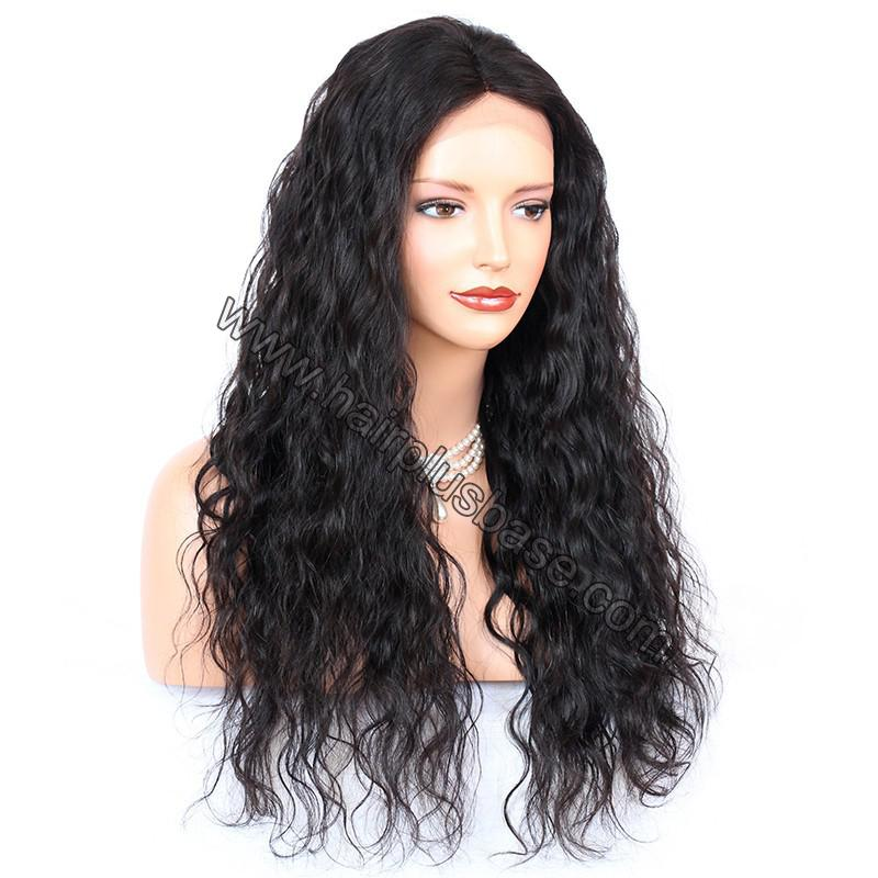 Full Lace Wigs Indian Remy Hair Deep Wave 4