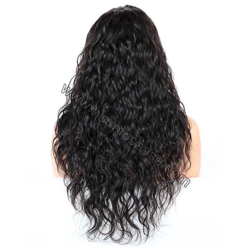 Full Lace Wigs Indian Remy Hair Deep Wave 5