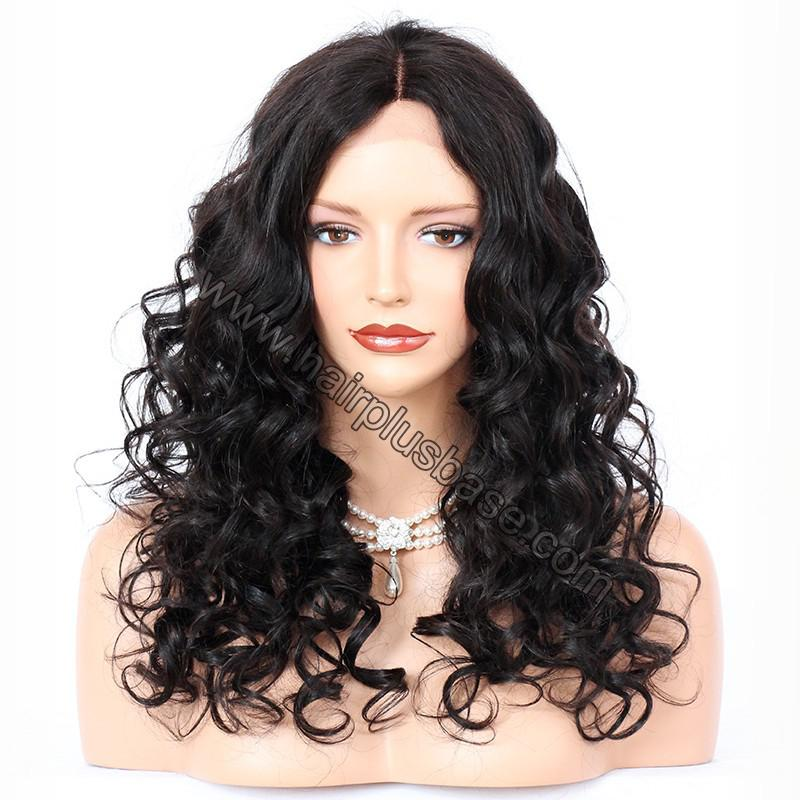 Full Lace Wigs Indian Remy Hair Loose Wave 1