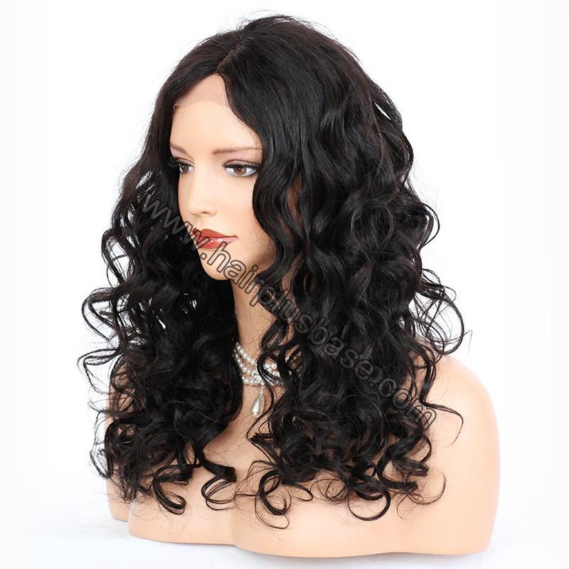 Full Lace Wigs Indian Remy Hair Loose Wave 2