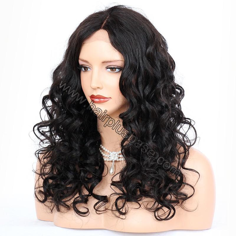 Full Lace Wigs Indian Remy Hair Loose Wave 3