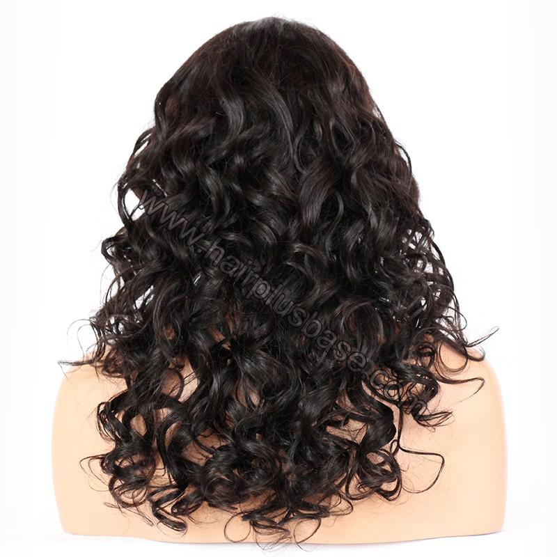 Full Lace Wigs Indian Remy Hair Loose Wave 5