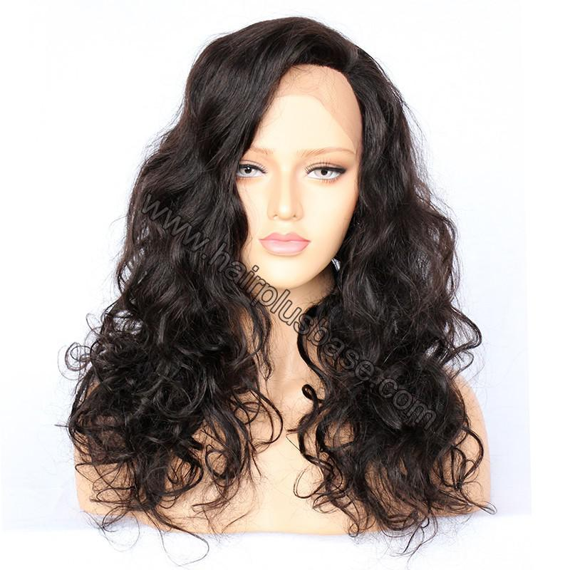 Full Lace Wigs Malaysian Virgin Hair Wavy 1