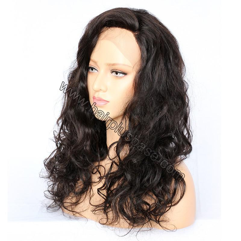 Full Lace Wigs Malaysian Virgin Hair Wavy 2
