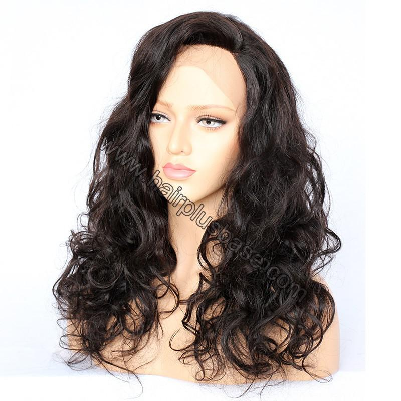 Full Lace Wigs Malaysian Virgin Hair Wavy 3