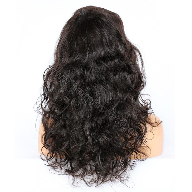 Full Lace Wigs Malaysian Virgin Hair Wavy 5