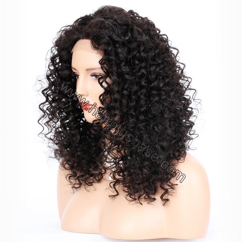 Full Lace Wigs Peruvian Virgin Hair Big Spiral Curl 2