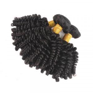 Funmi Hair Human Hair 3 Bundles Afro Kinky Curly Short Hairstyles
