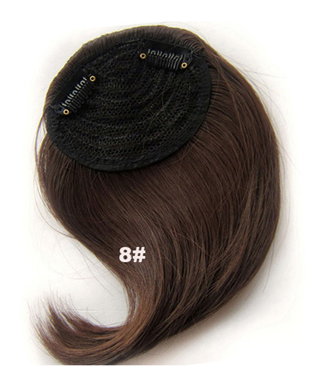 Girls Pretty Straight Short Bangs Clip In Synthetic Hair Extension