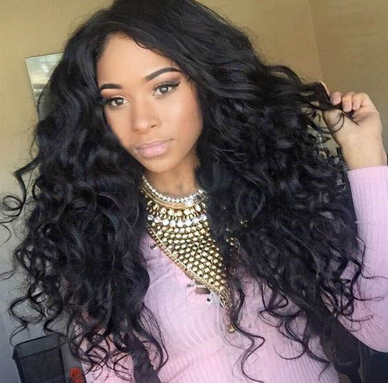 Glueless Full Lace Wigs Peruvian Virgin Hair Deep Curly 0