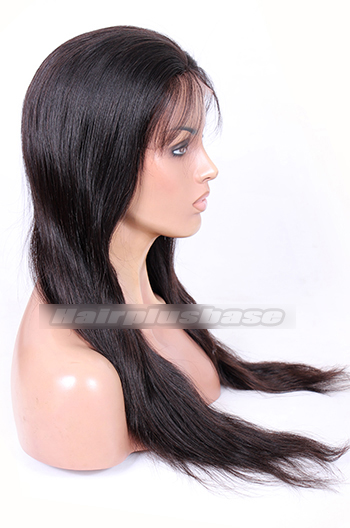 20inches ,natural color,natural straight ,120% normal density