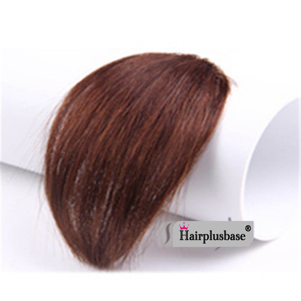 Gorgeous Real Human Hair Air Bangs With Temples/No Sideburns Mini Fashion Clip In Hair Extension 1