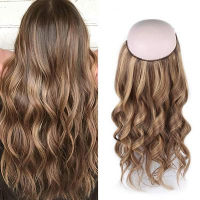 Halo Hair Extensions For Thin Hair #4/27 Body Wave/Straight