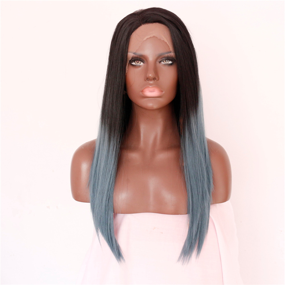 Handmade Fashion Synthetic Ombre Lace Front Wigs