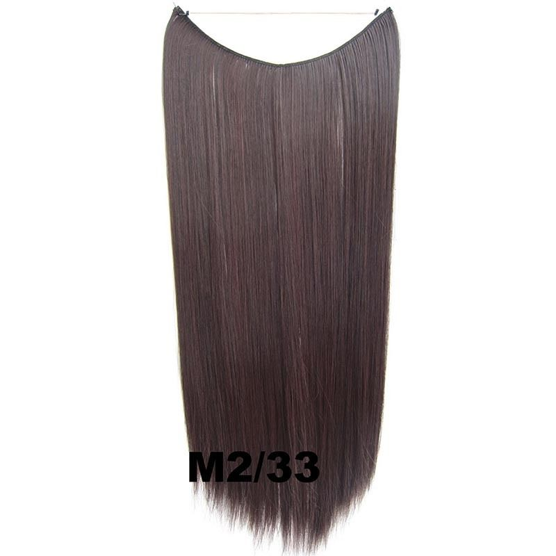 Hidden Halo Invisible Wire Hairpiece Secret Miracle Hair Extensions