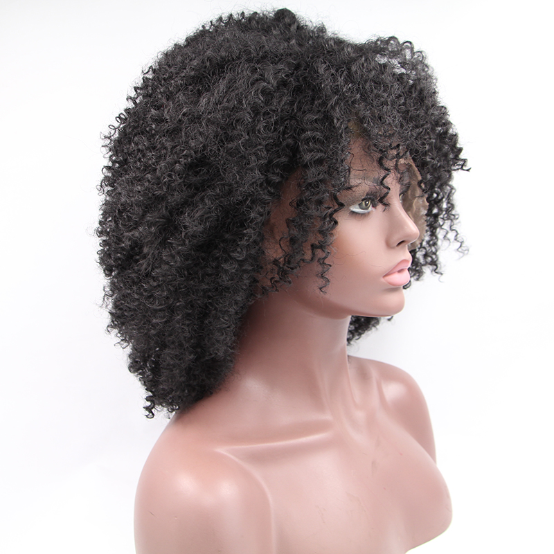 Hot Afro Kinky Curly Lace Front Wigs For Black Woman