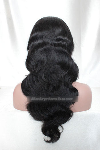 Indian Remy Hair Body Wave Machine Made Wigs JZ-006