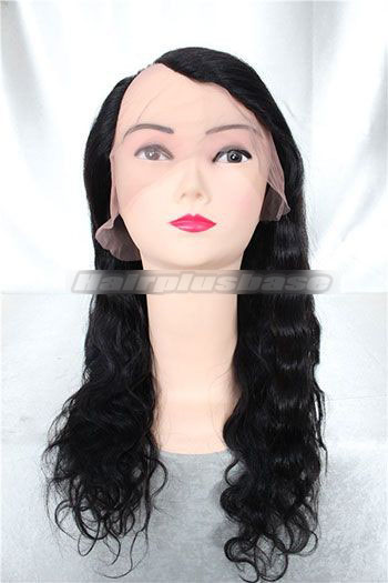 Natural Wave Indian Remy Hair U Part Wigs