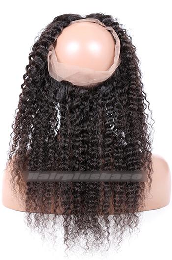 Deep Wave Indian Virgin Hair 360°Circular Lace Frontal
