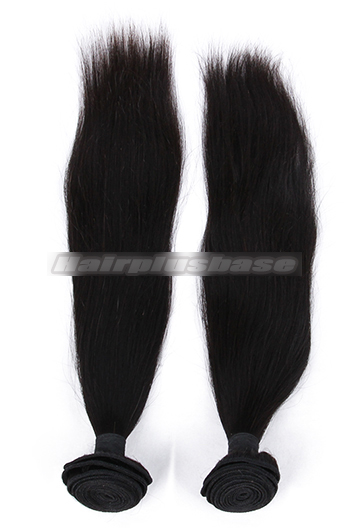 Indian Virgin Hair Weaves Silky Straight