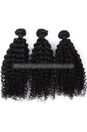10-26 Inch Water Wave 6A Virgin Human Hair Weaves 3 Hair Bundles Deal