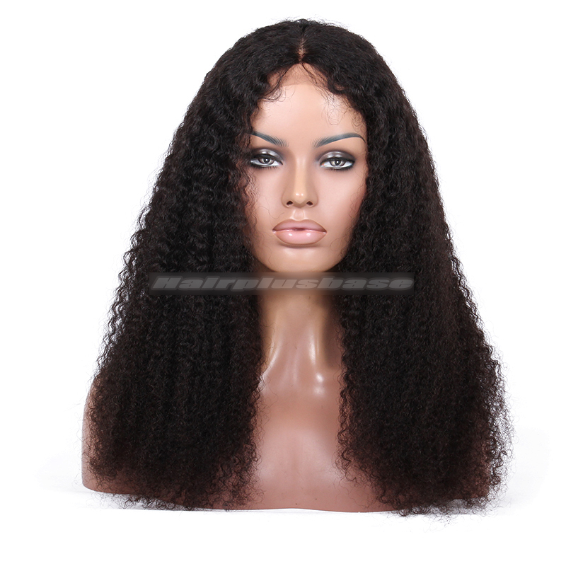 Kelly Rowland Natural Black Hair Jerry Curl Lace Wigs ,Natural color ,20inches
