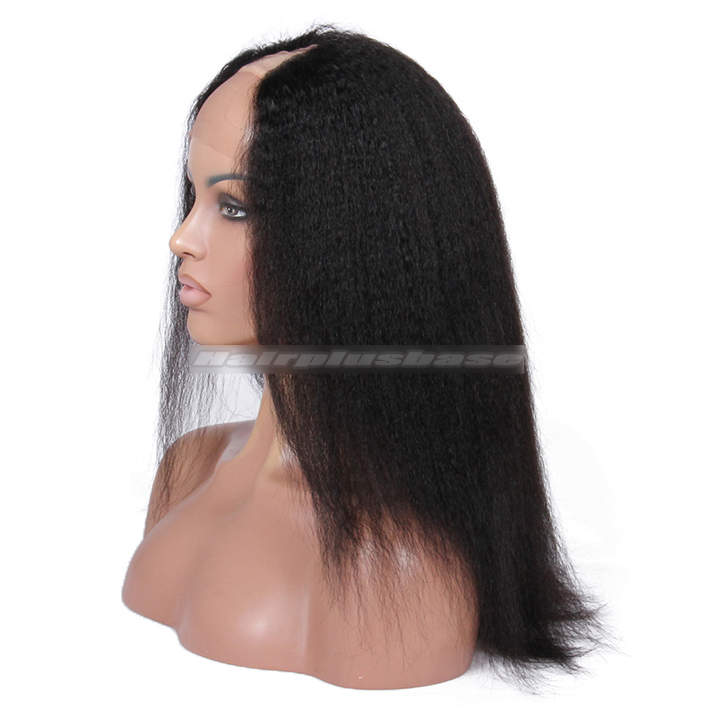 Kinky Straight Brazilian Virgin Hair U Part Wigs