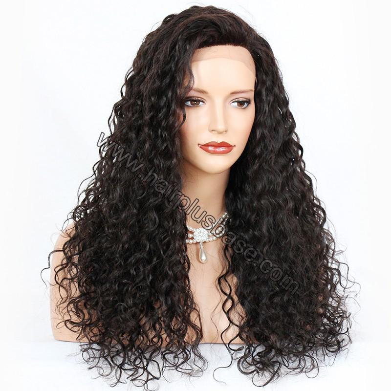 Lace Front Wigs Brazilian Virgin Human Hair Curly 3