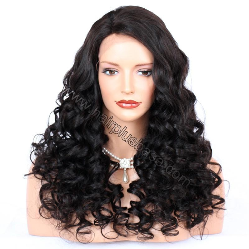 Lace Front Wigs Indian Remy Hair Curly 1