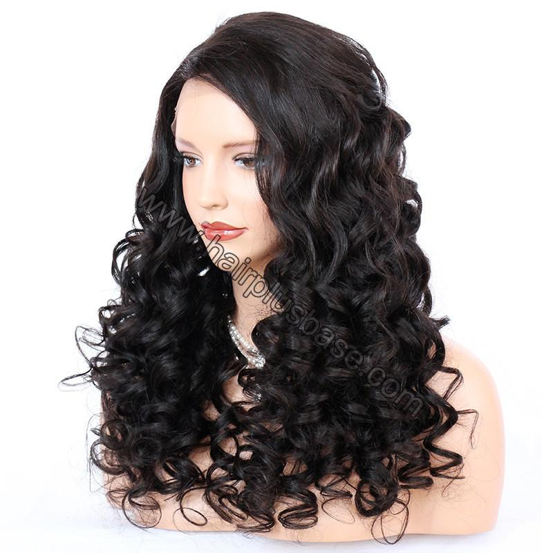 Lace Front Wigs Indian Remy Hair Curly 3
