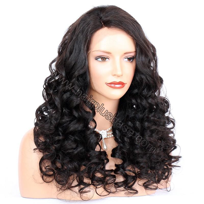 Lace Front Wigs Indian Remy Hair Curly 4
