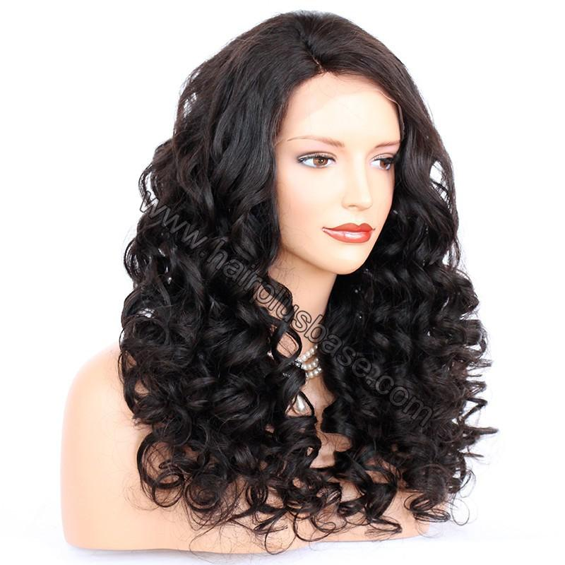 Lace Front Wigs Indian Remy Hair Curly 5