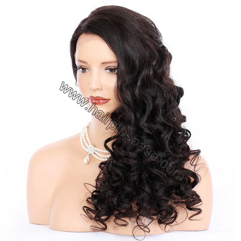 Lace Front Wigs Indian Remy Hair Curly 6