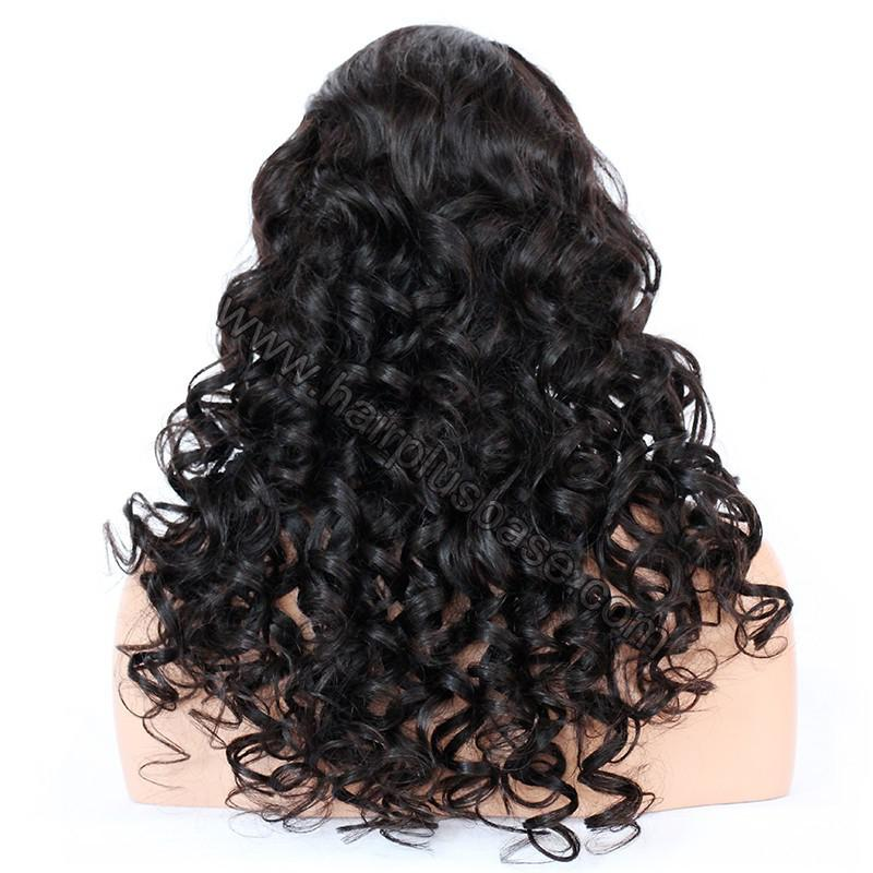 Lace Front Wigs Indian Remy Hair Curly 7